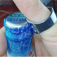 Chic Ring Shape Stainless Steel Bottle Opener Corkscrew Wine Opener Creative New