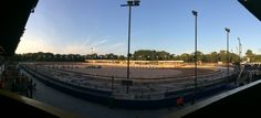 Panoramic pic of a summers evening at Coventry Speedway
