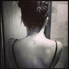 Triangle tattoo Sisters tattoo