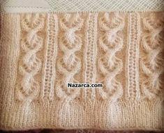 Easy Knitting Patterns, Knitting Stitches, Baby Knitting, Crochet Baby Sandals, Crochet Bedspread, Chrochet, Crochet Clothes, Lana, Crafts