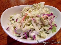 Cole Slaw is always a favorite. Swapping our slaw sauce or mayonnaise takes this one up a notch. The Blue Cheese bring a whole new tangy flavor to this simple side.