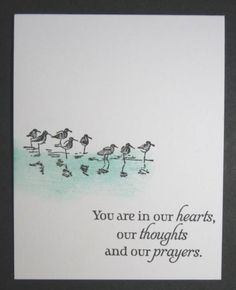 CAS275 - Thoughts and Prayers by allee's - Cards and Paper Crafts at Splitcoaststampers