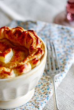 Chicken & Chorizo Pie with Puff Pastry - Simply Delicious— Simply Delicious
