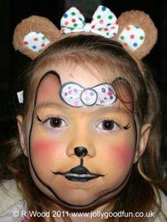 Fabulous Blush facepaint for #CiN