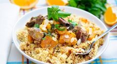 Worried about cooking couscous? If you're new to couscous, we've got the tips on how to make perfect couscous every time. Healthy Dishes, Tasty Dishes, Healthy Recipes, Meat Recipes, Side Dishes, Diabetic Recipes For Dinner, Dinner Recipes, Kwanzaa Food, Moroccan Couscous