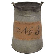 I pinned this Milo Pail from the Vintage Trove event at Joss and Main!