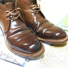 Carmina shoemaker chuka horween shell cordovan
