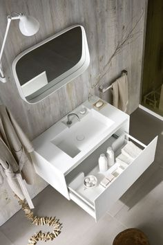 Ergo-nomic by Rexa Design | #design Giulio Gianturco #bathroom #minimal @Rexa Design