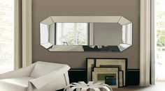Decorative Mirrors for Living Room Stylish Living Room Mirrors Mirror Ideas How to Place Big Wall Mirrors, Rustic Wall Mirrors, Contemporary Wall Mirrors, Decorative Mirrors, Modern Mirrors, Modern Contemporary, Beautiful Mirrors, Framed Wall, Large Mirrors