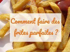 Apprenez à réaliser des frites par faites ! Suivez nos conseils et régalez-vous.. #frites #friteuses #recette #cuisine #festihome