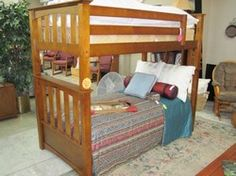 Twin Bunk Bed Mission Wood