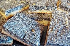 Thüringer Mohn - Grießkuchen mit Hermann (Rezept mit Bild) | Chefkoch.de German Cake, Cake Recipes, Bakery, Homemade, Cooking, Easy, Desserts, Food, Poppy