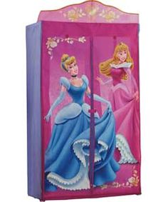 Disney Princess Wardrobe. Don't have the room for, but very cute if we did!