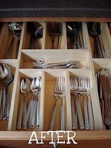 Kitchen Drawer Organization Tips