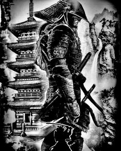Samurai Tattoo Designs: A History Of War And Honor Samurai Tattoo Sleeve, Samurai Warrior Tattoo, Warrior Tattoos, Warrior Tattoo Sleeve, War Tattoo, Demon Tattoo, Norse Tattoo, Tattoo Arm, Viking Tattoos