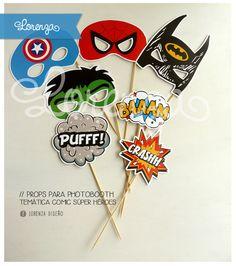 SUPER HEROES!!! Detalles de COMICS, color y fuerza, para esta temática SUPER PODEROSA!!!! Para el cumple de Juani!  DISEÑOS PERSONALIZADOS! Infolorenza@gmail.com / lorenzadiseño.com  ENVÍOS A TODO EL PAÍS!