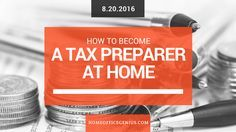 How To Become A Tax Preparer At Home  Home Office Genius