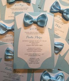 Baby Shower Invitation Onesie Invitation Baby Shower Diaper Invitation Onesie Invitation Bowtie Invitation Bowtie Theme Mustache Invitation - This is a custom made/made to order onesie cut out baby shower invitation. Can be made for boy, gir - Invitation Baby Shower, Diaper Invitations, Baby Shower Invitations For Boys, Baby Shower Themes, Shower Ideas, Diy Babyshower Invitations, Baby Showers, Baby Shower Centerpieces, Baby Shower Decorations