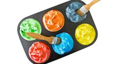 How to make foam bath paint: This awesome coloured shaving-foam paint will turn your bathroom into an art gallery in seconds.