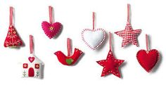 Image result for stick ribbon christmas decoration