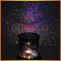 Projecteur boule lumiere ciel nuit etoile lampe veilleuse - Ciel etoile led ...