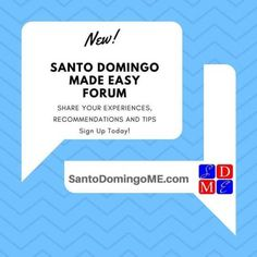 Share your experiences, recommendations, and tips in our new forum! www.SantoDomingoME.com/forum  #santodomingo #rd #dr