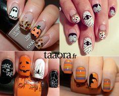 Halloween Nail Art                                                                                                                                                                                 Plus