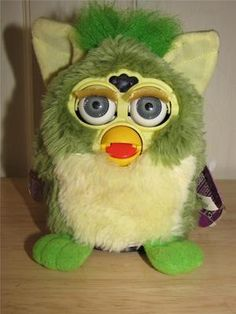 Furby with a Mohawk