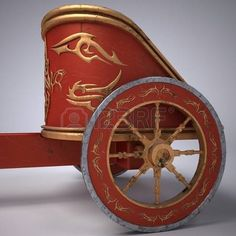 roman chariot: Old scratched roman chariot. on gradient white background. metal wheels and Ancient Rome, Ancient Greece, Christmas Grotto Ideas, Greece Party, Roman Chariot, Roman Toga, Roman Gladiators, Vbs Crafts, Bible Crafts