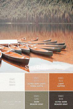 Orange Color Combinations, Color Combinations For Clothes, Orange Color Palettes, Colour Pallette, Colour Schemes, Copper And Grey, Brown And Grey, Rust Color, Copper Color