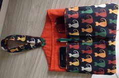 Lixeira para carro com bolsos para caneta, celular, óculos. <br>Medida. 22 cm x 23 cm. <br>Voce pode escolher a estampa do tecido no mostruário.