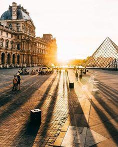 Morning light Paris Art symphony