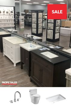 Create the ultimate bath oasis. The Pacific Sales expert staff is here to help bring your dream a reality.