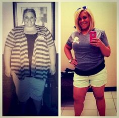 Reddit user sflannery86 lost a total of 211 pounds and went from 384 to 173 lbs. She looks incredibly happy and she deserves it!