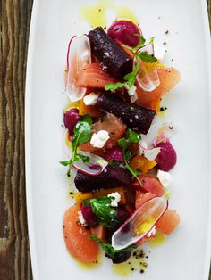 This was amazing: Beets, grapefruit, watercress, shaved radish, cheese and a wonderful mixed oil--yum! Tiburon Tavern- farm to table concept in Tiburon to try