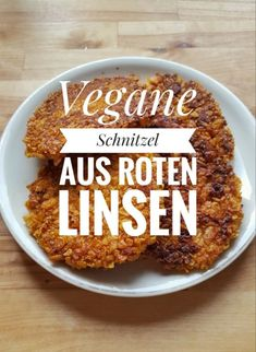 Our vegan lentil schnitzel recipe from red lentils is super quick and easy. The vegan schnitzel is good for kids and guests and even cold. Schnitzel Recipes, Cutlets Recipes, Delicious Vegan Recipes, Vegetarian Recipes, Healthy Recipes, Burger Recipes, Vegetarian Italian, Pampered Chef, Ground Beef Recipes