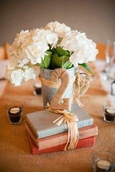 Números de mesa para boda con libros http://conbdeboda.blogspot.com.es/2013/10/numeros-para-mesas-en-tu-boda.html