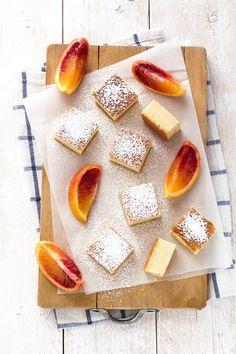 torta magica alle arance rosse - torta magica - blood oranges magic cake