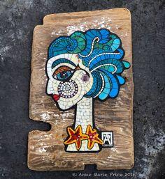 """Mira"" by Anne Marie Price www.ampriceart.com #mosaic #art #mosaicart…"