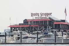 The Rusty Scupper at the Inner Harbor in Baltimore