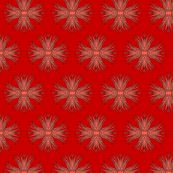 Candy Cane Anemone by Holli_Zollinger from Spoonflower #fabric #red