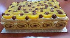 ferjem-szulinapi-tortaja-olyant-kert-ami-meg-senkinek-nem-volt Cake Flavors, Quick Bread, Waffles, Cheesecake, Goodies, Food And Drink, Cooking Recipes, Pudding, Sweets