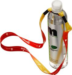 """3/4"""" Water Bottle Lanyard with rubber O ring. 36"""" L x 3/4"""" W. Price includes door to door freight charges from China to USA. Available in wide variety of sizes and colors! http://leaguepromos.com/lanyards-bottle-lanyard-c-22_24.html"""