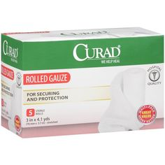 Curad Sterile Rolls Rolled Gauze, 5 count