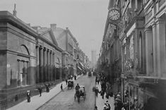 Liverpool City Centre, Liverpool Home, Liverpool History, Uk Photos, Southport, 1940s, Past, England, Street View