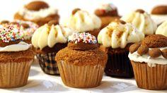 """Gevulde speculaascupcakes met verschillende toppings, ik krijg helemaal zin in t """"heerlijke avondje"""""""