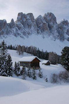 Odle, Dolomiti Mountains, Italy.