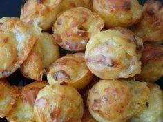 Cakes pops lardons/comté
