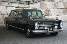 NISSAN Prince Royal (1969 manufacture) Maintenance/restoration of old/vintage vehicles: the material for new cogs/casters/gears/pads could be cast polyamide which I (Cast polyamide) can produce. My contact: tatjana.alic@windowslive.com