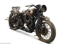 Brough Superior bikes, built from 1924 until 1940, are the most sought-after two-wheel tra...